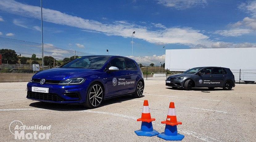 Volkswagen Driving Experience - Prueba de esquiva