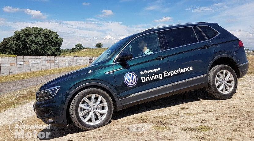 Volkswagen Driving Experience - Recorrido offroad con el Tiguan