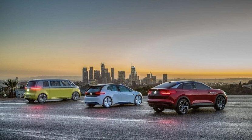 Trasera de los modelos que presentará Volkswagen antes de 2024