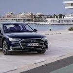 Audi A8 perfil delantero
