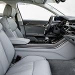 Audi A8 plazas delanteras