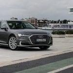 Audi A8 L perfil delantero