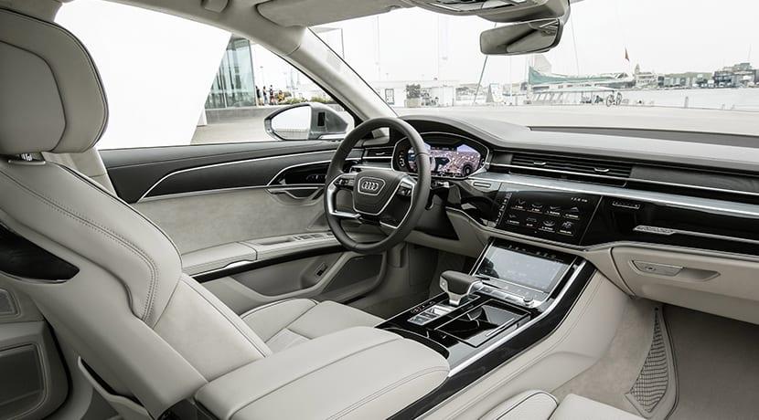 Audi A8 L diseño interior