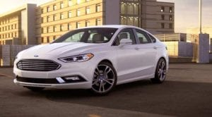 Ford Fusion EEUU 2018