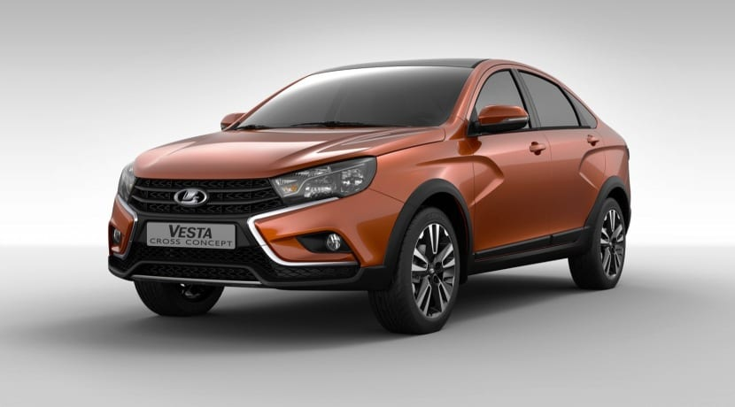 Lada Vesta Cross Sedan Concept