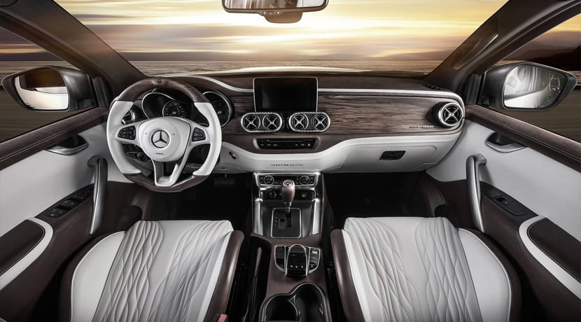 Mercedes Clase X Carlex Design