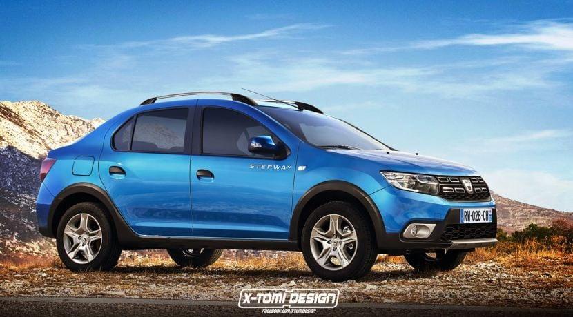 Renault - Dacia Logan Stepway render