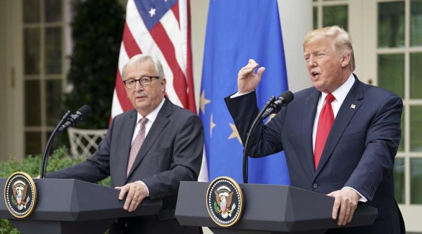 Sector del Automóvil - Donald Trump - Jean-Claude Juncker - EEUU - Unión Europea - Aranceles
