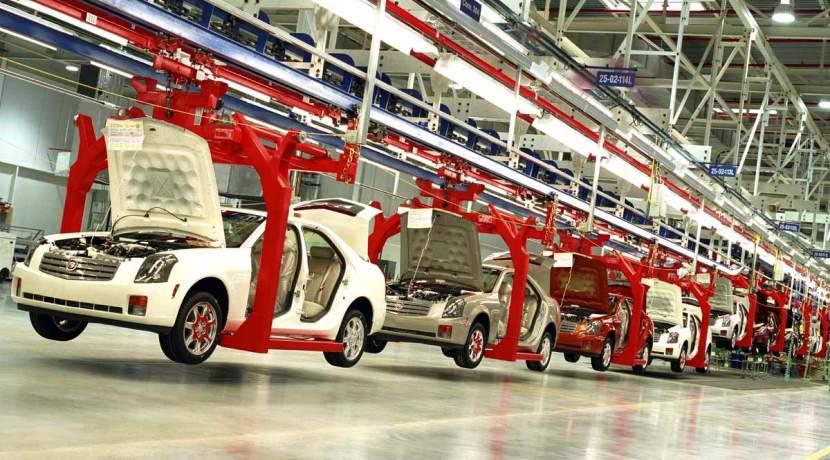 Sector del automóvil americano - Factoría Cadillac