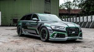 Audi RS6-e prototipo