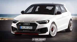 Recreación del Audi A1 quattro por X-Tomi Design