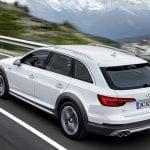 Audi A4 allroad quattro dinámica trasera