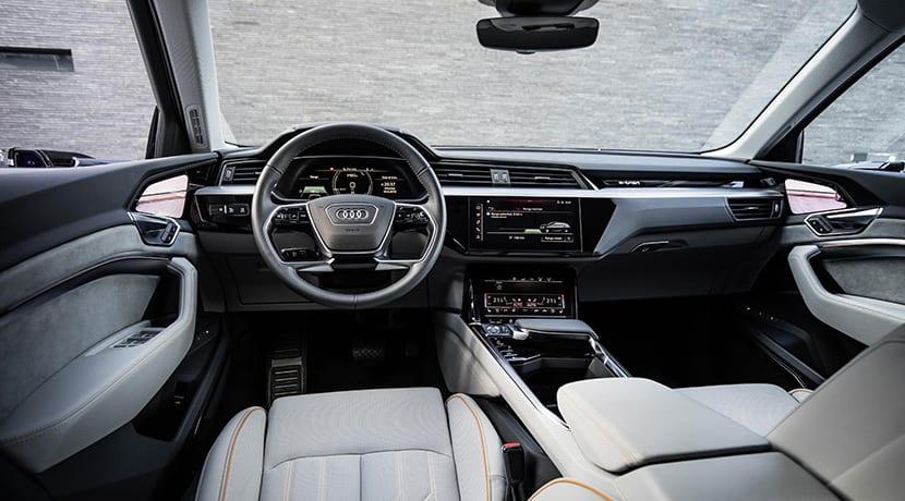 Audi e-tron prototype interior