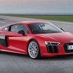 Audi R8 perfil delantero