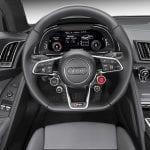 Audi R8 puesto conducción