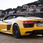 Audi R8 Spyder trasera