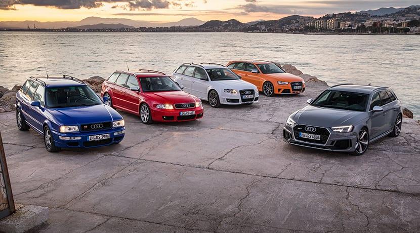 Generaciones Audi RS 4 Avant