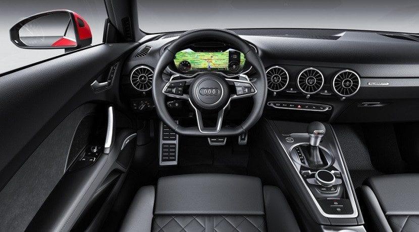 Puesto del conductor del restyling del Audi TT 2019