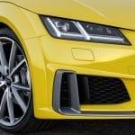 Entradas de aire rediseñadas del restyling del Audi TT Roadster 2019