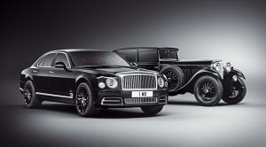Bentley Mulsanne W.O Edition y Bentley 8 Litre de 1930