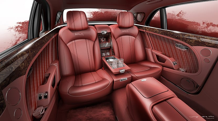 Bentley Mulsanne W.O. Edition interior