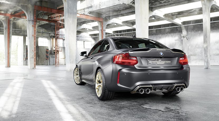 BMW M2 M Performance Parts Concept trasera