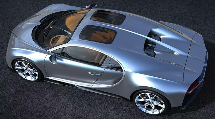 Bugatti Chiron Sky View techo solar