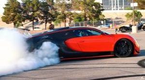 Bugatti Veyron con tracción trasera