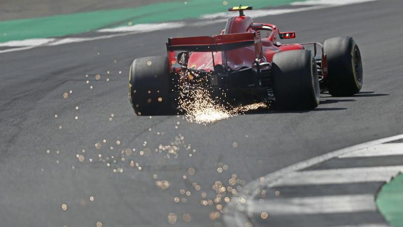 Trasera del Ferrari de F1 2018
