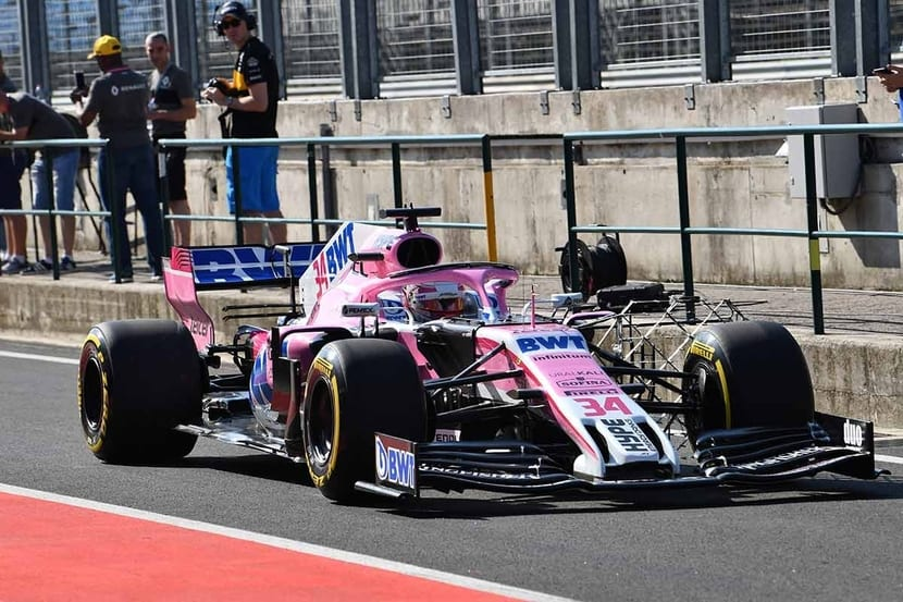 Force India Ala frontal 2019