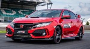 Honda Civic Type R bate récord de Silverstone