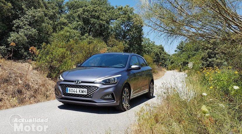 Frontal del Hyundai i20 2018