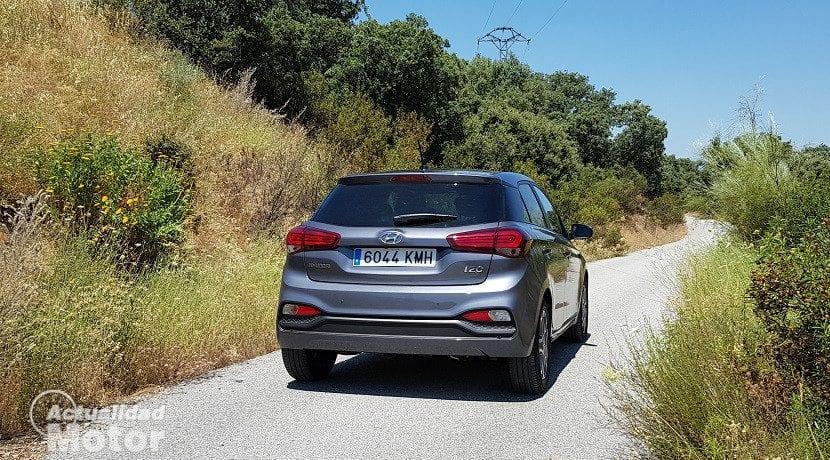 Trasera del Hyundai i20 2018