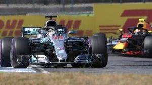 Lewis Hamilton en el GP de Alemania F1 2018