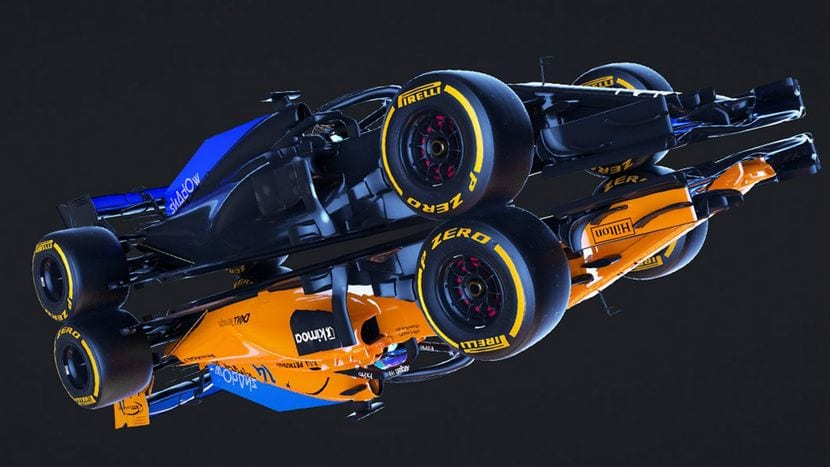 McLaren Shadow Poject F1 imagen
