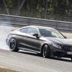 Mercedes-AMG C 63 Coupé drift