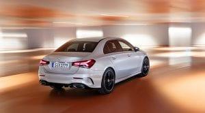 Mercedes Clase A Sedan exterior