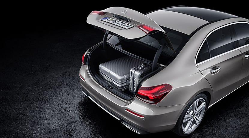 Mercedes Clase A Sedan maletero