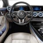 PMercedes Clase A Sedan puesto de conducción