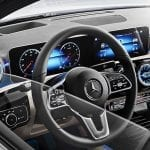 Mercedes Clase A Sedan pantallas