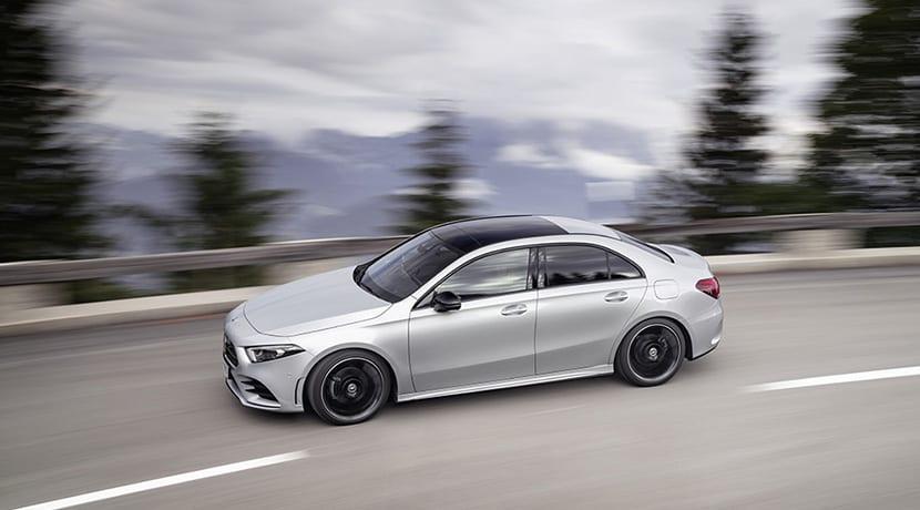 Mercedes Clase A Sedan dinámica