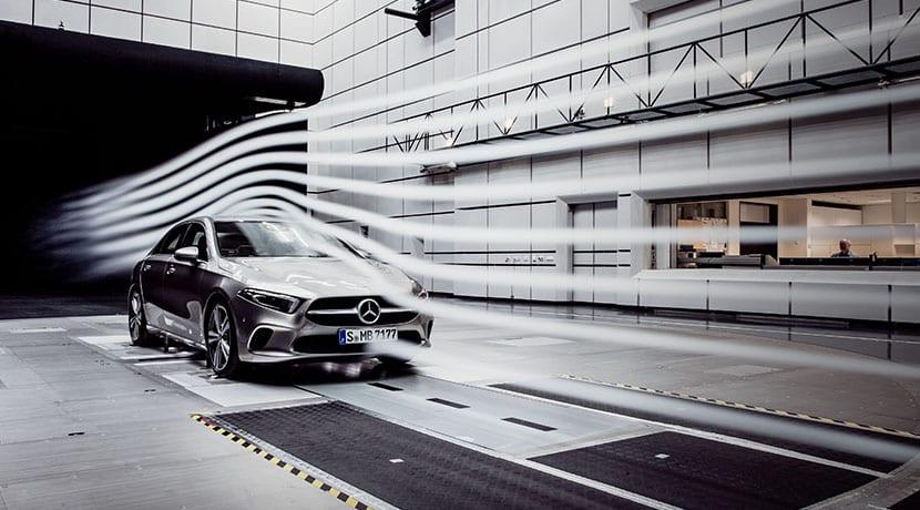 Mercedes Clase A Sedan aerodinámica