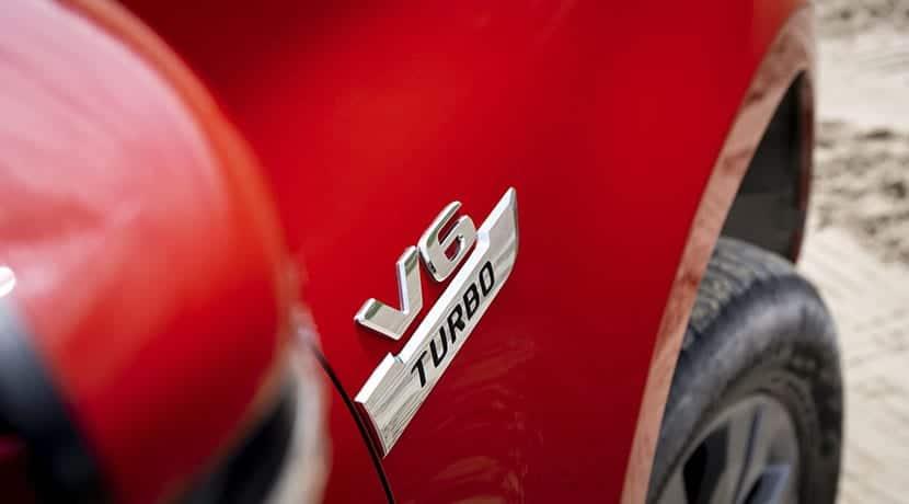 Trasera Mercedes Clase X 350 d