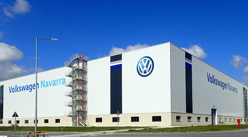Planta de producción de Volkswagen en Navarra
