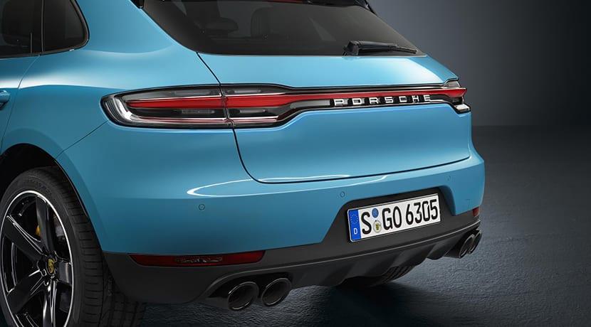 Porsche Macan pilotos traseros