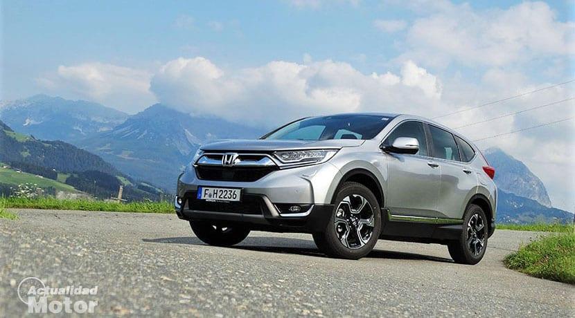 Prueba Honda CR-V perfil delantero