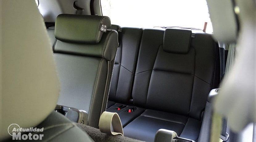 Prueba Honda CR-V plazas tercera fila