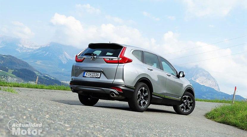 Prueba Honda CR-V perfil trasero