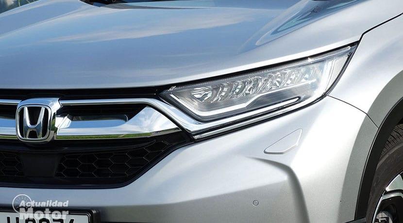 Prueba Honda CR-V faro de LED