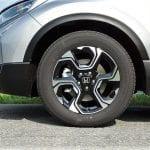 Prueba Honda CR-V llantas